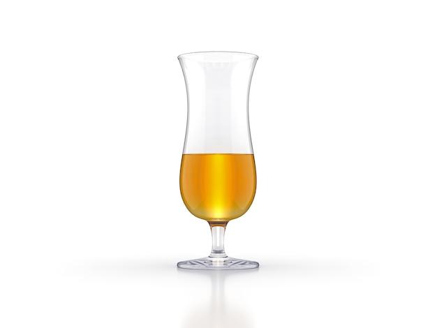 ウイスキーグラススコッチバーボンクリエイティブに孤立した白い背景