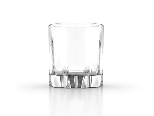 Whiskey glass scotch bourbon creative isolated on white background