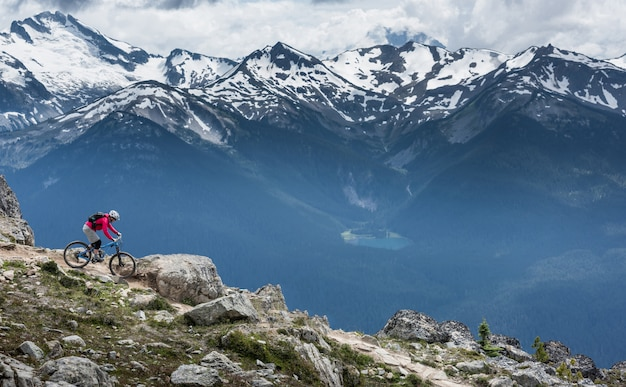Whistler mountains, british columbia, canada