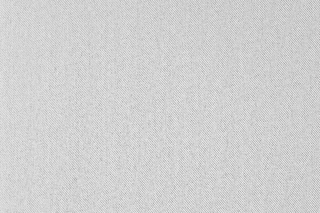 Whit gray fabric canvas texture background