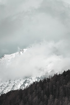 Белая и черная гора