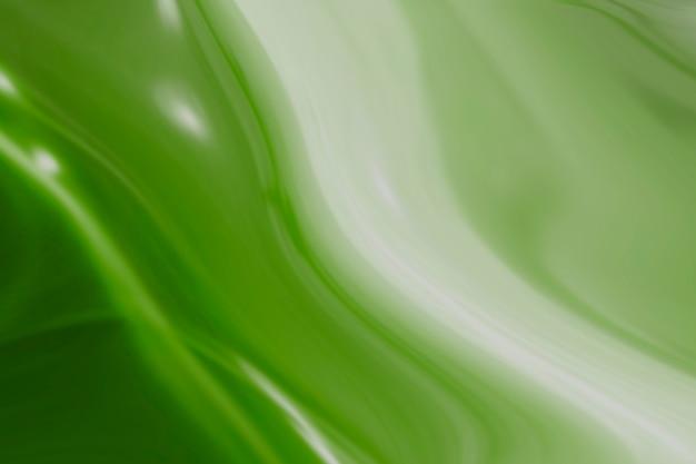 白と緑の渦巻き模様の背景