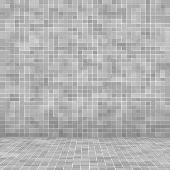 Белый и серый плитка стены обои высокого разрешения или кирпич бесшовные и текстуры фона интерьера.