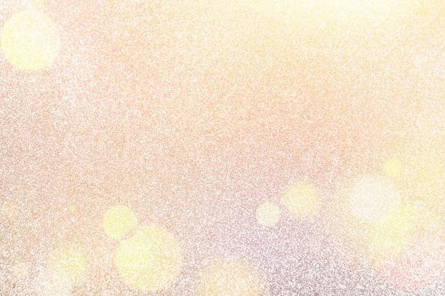 白と銀の抽象的なボケライト。キラキラ背景シルバーの光沢のあるクリスマスの背景、明るいボケ味、焦点ぼけ。 Premium写真