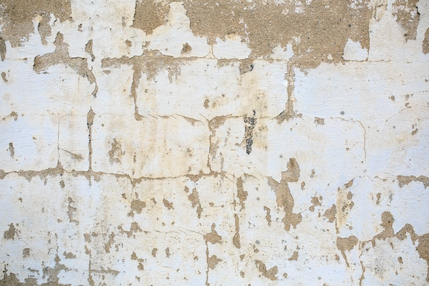 ホワイトアングレーグランジテクスチャコンクリート壁の背景