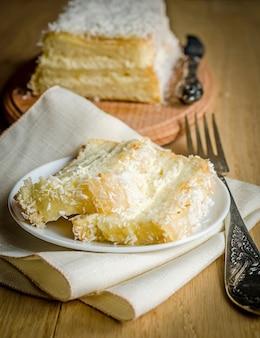 ホワイトエンジェルフードケーキ