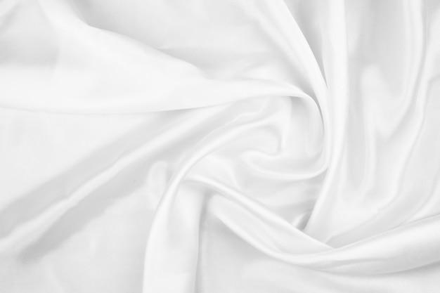 Белый фон, текстура крупным планом ткани