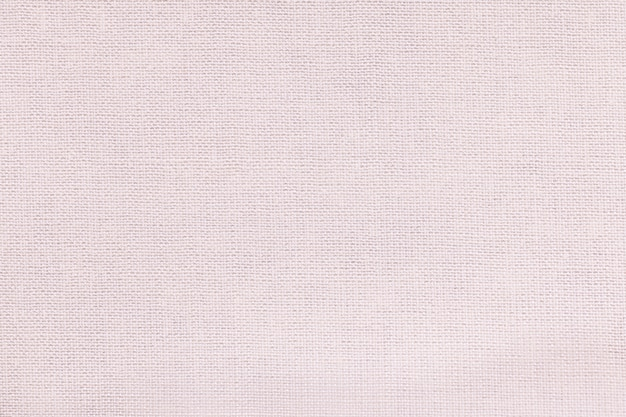 White background from a textile material with wicker pattern