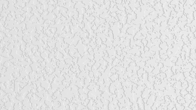 흰색 배경, 석고, 종이, 벽의 질감. 3d 그림, 3d 렌더링입니다.