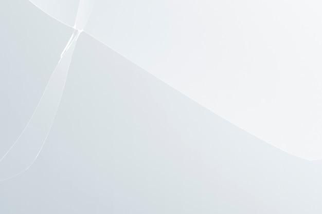 금이 간 유리 질감이 있는 흰색 배경