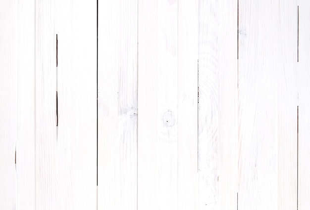 White background of wooden planks