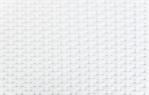 White basket weave pattern