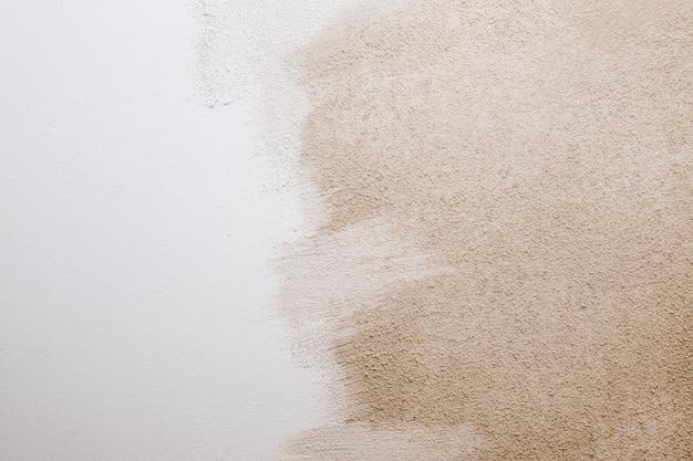 흰색 베이지 색 시멘트 질감 돌 콘크리트, 바위 회 반죽 치장 벽토 벽