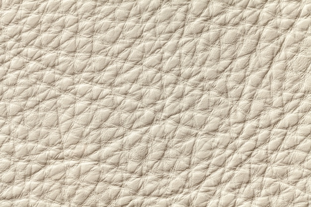 White beige leather texture background with ,