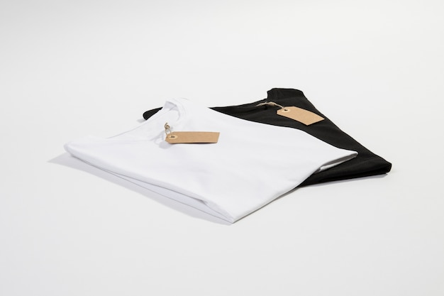 White and black t-shirts