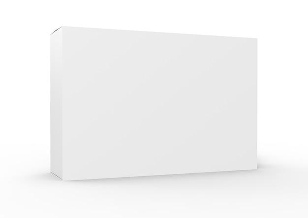 흰색 빈 제품 패키지 상자