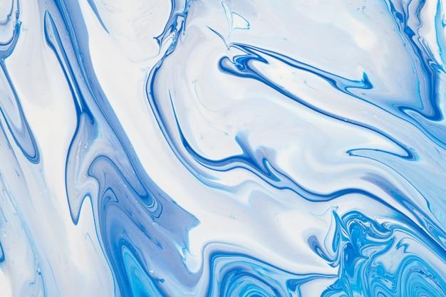 White and blue acrylic background