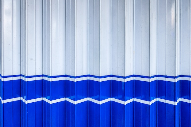White blue metallic striped in dock pattern
