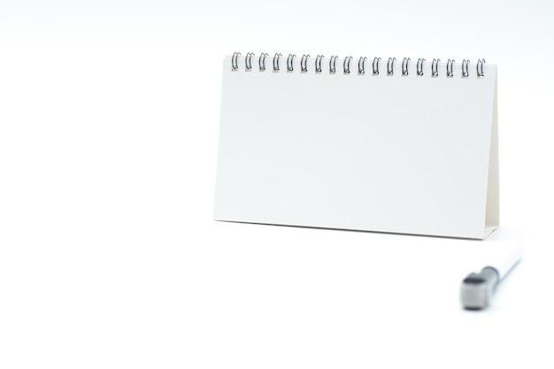 White board set. includes blank board and pen. isolated vector design.