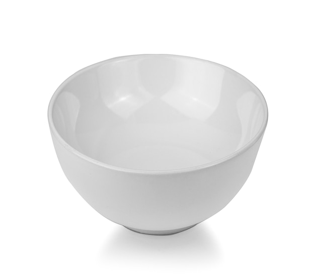 白の白いボウル