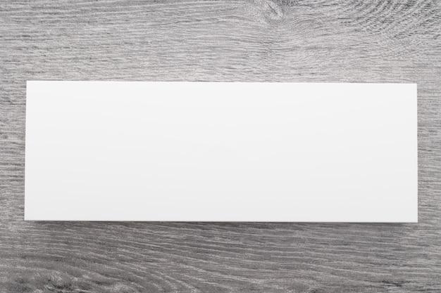 White box for mock up