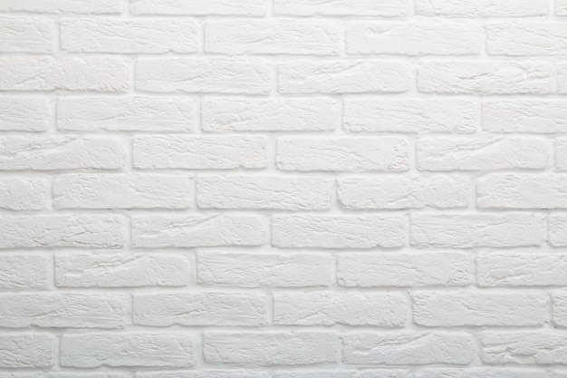 White brick background. gypsum tile, imitation brick