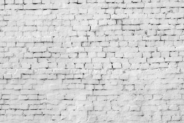 흰색 벽돌 건물 벽 현대 로프트의 내부