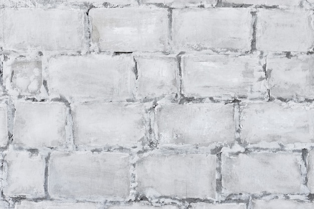 White brick masonry texture. wall brick background