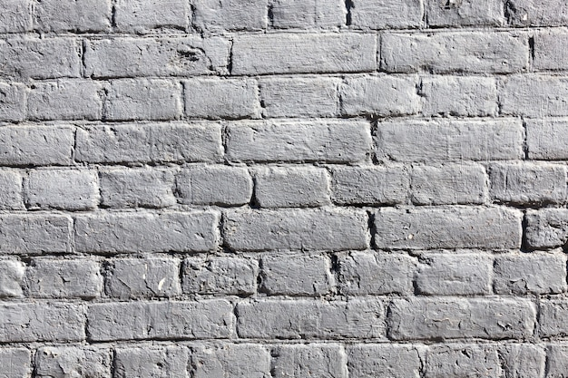 White brick painted old brick wall, building details