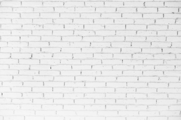 White brick textures for background