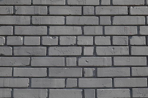 White brick wall background texture