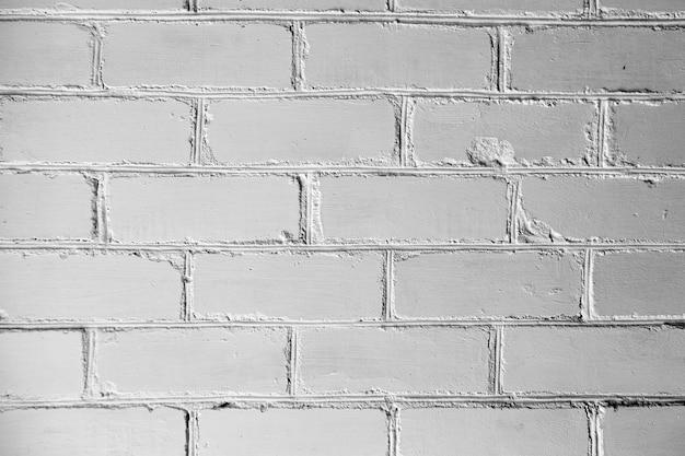 Детали стены из белого кирпича