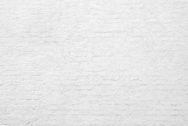 白いレンガの壁。ロフトのインテリアデザイン。建築の背景。