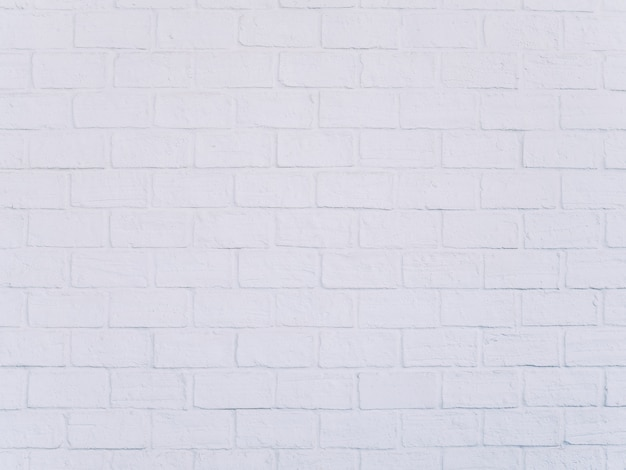 White brick wall loft style background