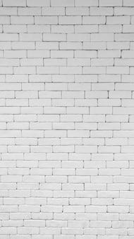 White brick wall pattern texture.