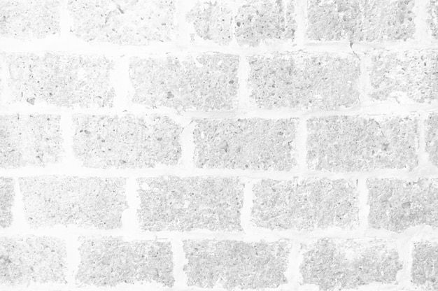 White brick wall patterned texture for background luxurious design concept.
