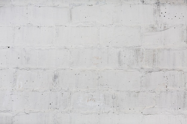 White brick wall seamless pattern texture