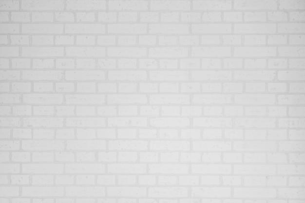 白いレンガの壁の表面とテクスチャ