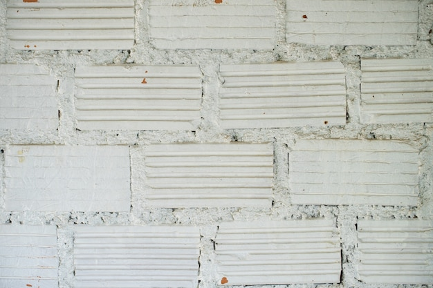 Белая кирпичная стена текстура фон