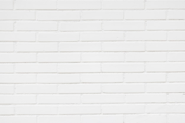 White brick wall. texture. background