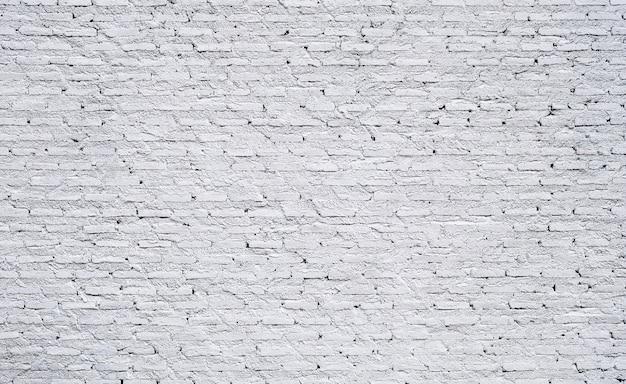 白いレンガの壁のテクスチャの背景