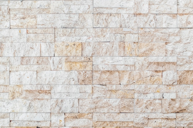White brick wall texture background
