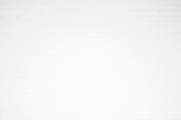White brick wall texture for backgrounds