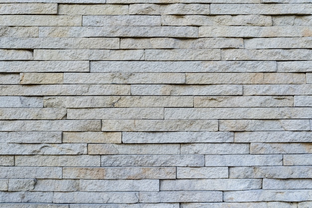 White brick wall. texture of brick with white filling