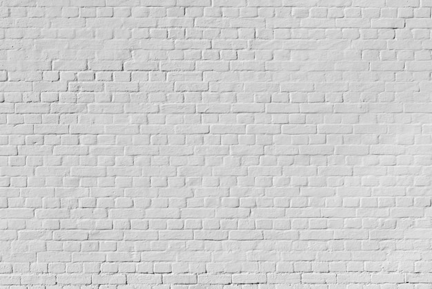 White brick wall texture. building architectural background.