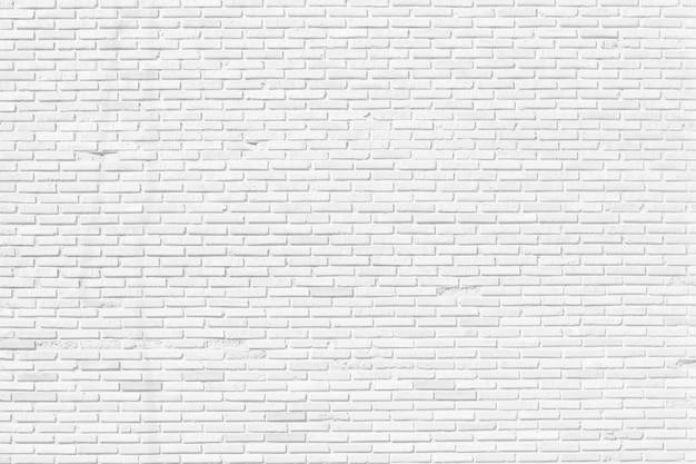 White brick wall texture design background