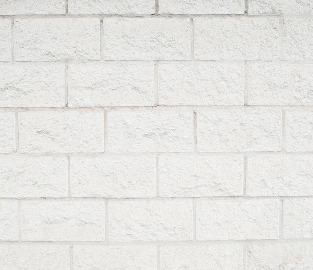 Struttura di muro di mattoni bianchi