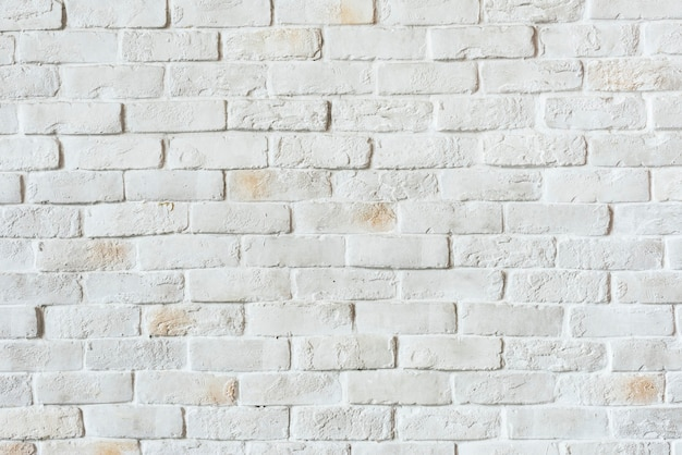 White brick wall textured