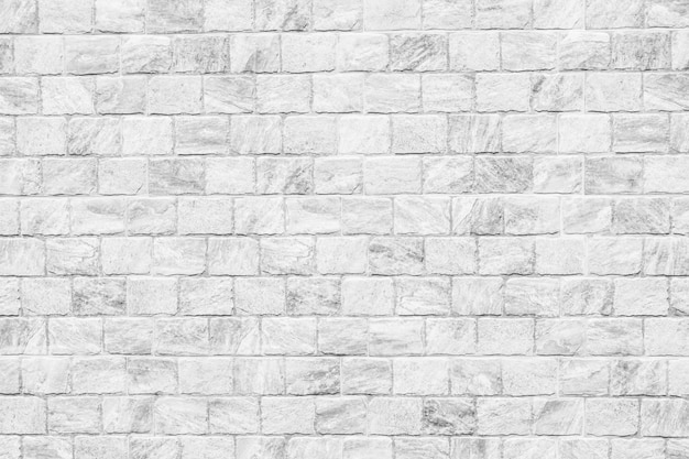 White brick wall textures for background