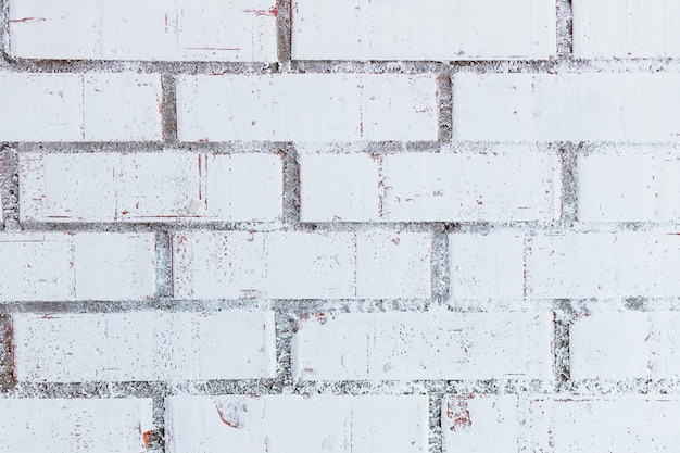 White brick wall for wall or texture.home interior decoration. architecture concept. wall for sad, hopeless and despair concept.pattern of white brick wall